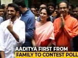 Video : Maharashtra Election 2019: Thackeray Family Votes In Mumbai