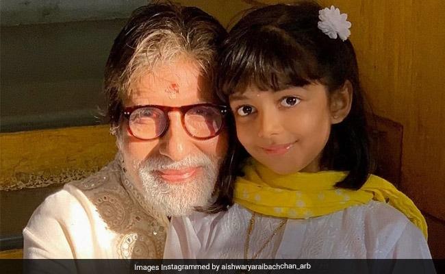 Inside Amitabh Bachchan's Birthday Celebrations With Aaradhya, Jaya Bachchan, Shweta Bachchan Nanda, Abhishek And Aishwarya