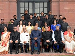 Officer Trainees Of Indian Information Service Call On The President