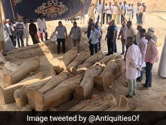 Archaeologists Find Over 20 Coffins Just As Ancient Egyptians Left Them