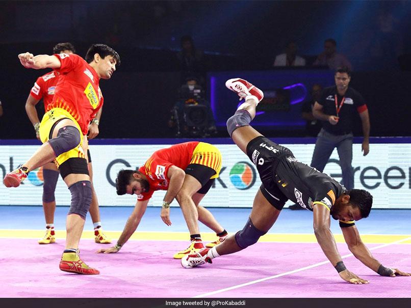 Pro Kabaddi: Gujarat Fortunegiants Beat Telugu Titans, Tamil Thaliavas Edge Jaipur Pink Panthers