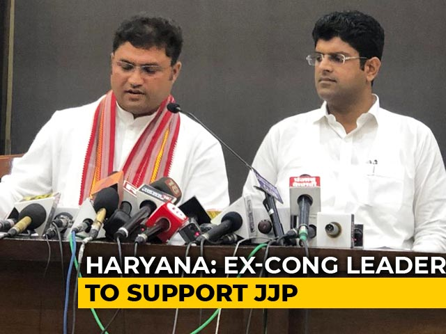 Video : Will Support Dushyant Chautala's Party, Says Ex-Haryana Congress Chief Ashok Tanwar