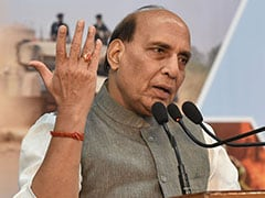 "Rajnath Singh's ""Suggestion"" To Imran Khan Involves Army Going To Pak"