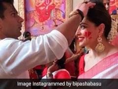 बिपाशा बसु की मांग में सिंदूर भरते समय पति करण सिंह ग्रोवर कर बैठे यह गलती, वायरल हुआ Video