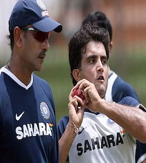 Sourav Ganguly's Epic Response To Question On Ravi Shastri