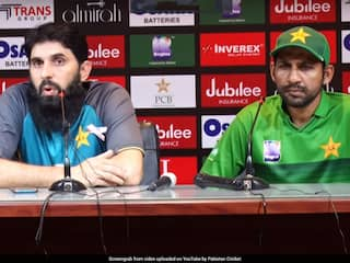 Watch: Unhappy Misbah-Ul-Haq Gives Sarcastic Response To Journalist After Sri Lankas T20I Whitewash