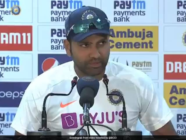India vs South Africa: Rohit Sharma Takes Cheeky Dig At Reporters After Maiden Test Double Century. Watch