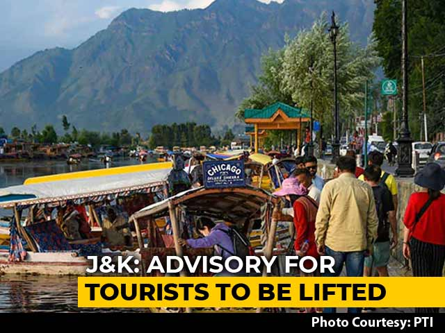 Video : Tourists To Be Allowed In Jammu And Kashmir From Thursday