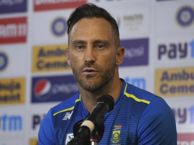 IND vs SA 3rd Test: Because of this ominous Faf du Plessis will not be present in ground during the toss in Ranchi