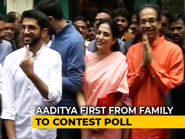Maharashtra Election 2019: Thackeray Family Votes In Mumbai
