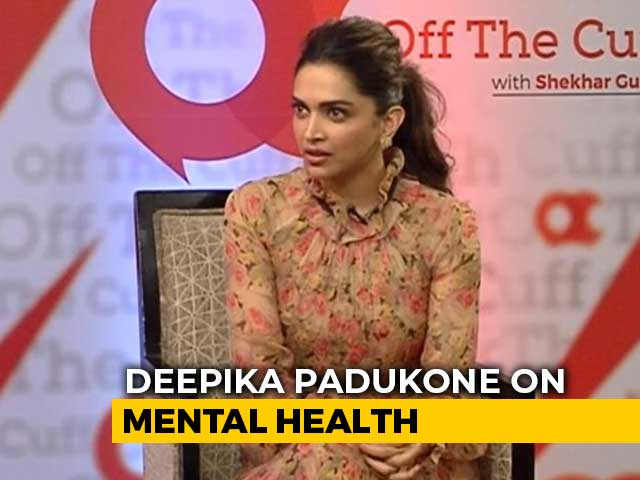 Video : Deepika Padukone On How Mental Health Is Portrayed In Films: 'Need To Be Sensitive'