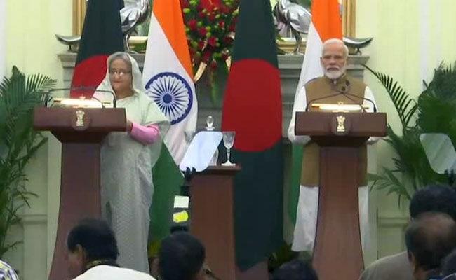 PM Modi, Bangladesh's Sheikh Hasina Address Joint Press Conference: Highlights