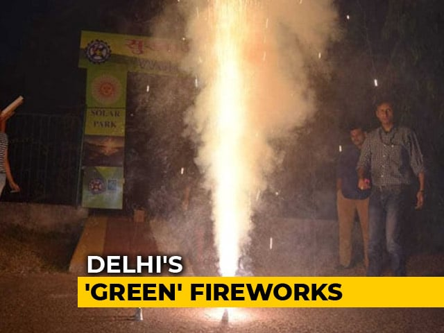 Video : No Rockets Or Bombs, Only These 2 Firecrackers Will Be Legal This Diwali