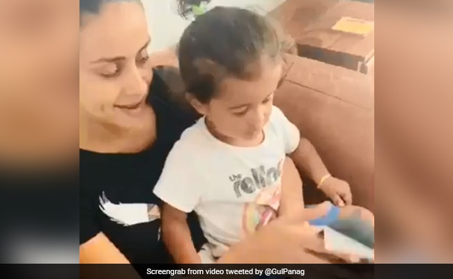 """Extremely Adorable!"": PM Modi Responds To Video Of Gul Panag's Son"