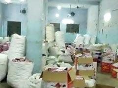 दिल्ली : अवैध पटाखा फैक्ट्री का भंडाफोड़, 50 लाख रुपये की आतिशबाजी बरामद
