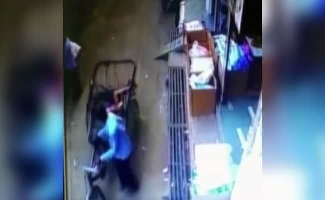 Watch: Three-Year-Old MP Boy Unhurt After 35-Foot Fall Into Rickshaw Seat