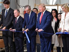 """""""You'll Be Very Happy"""": Donald Trump Inaugurates Louis Vuitton US Site"""