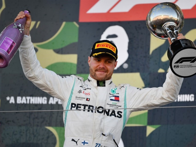 Valtteri Bottas Wins Japanese GP, Mercedes Clinch Record Constructors