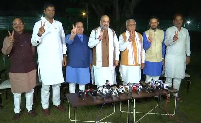 Haryana Results: हरियाणा में BJP को मिला दुष्यंत चौटाला की पार्टी का समर्थन, भाजपा का होगा सीएम, JJP का डिप्टी सीएम
