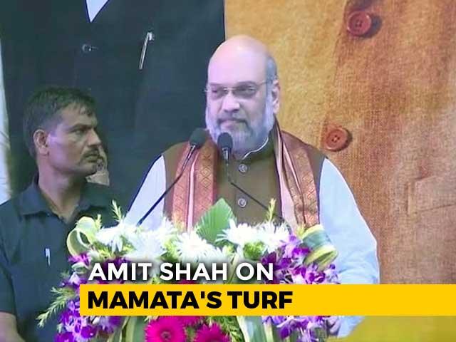 Video : Could Not Have Crossed 300 Seats Without Bengal, Says Amit Shah In Kolkata