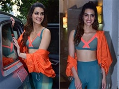 Take Workout Fashion Inspiration From Kriti Sanon And You'll Be Turning Heads At The Gym