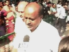 """Congress Not Safe For Bengaluru"": HD Kumaraswamy Rips Into Former Ally"