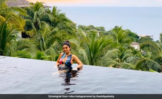 शिल्पा शेट्टी ने शेयर किया Video, पूल में यूं इंजॉय करती आईं नजर- देखें Viral Video