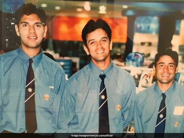 Yuvraj Singh Shares Throwback Picture, Recalls Getting Picked For Team India For The First Time