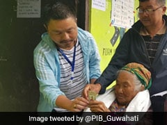 Assembly Elections 2019: 107-Year-Old Sumitra Rai Turns Up To Vote In Sikkim
