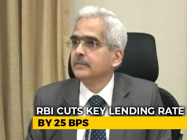 Video : RBI Lowers Key Lending Rate To 5.15% - 5th Straight Cut - To Boost Growth