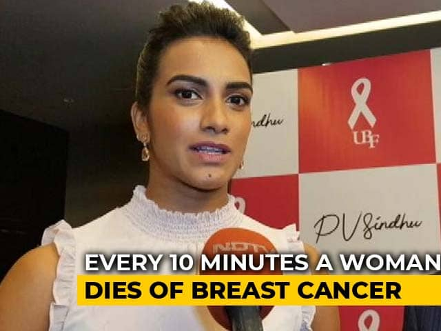 PV Sindhu Raises Awareness About Breast Cancer