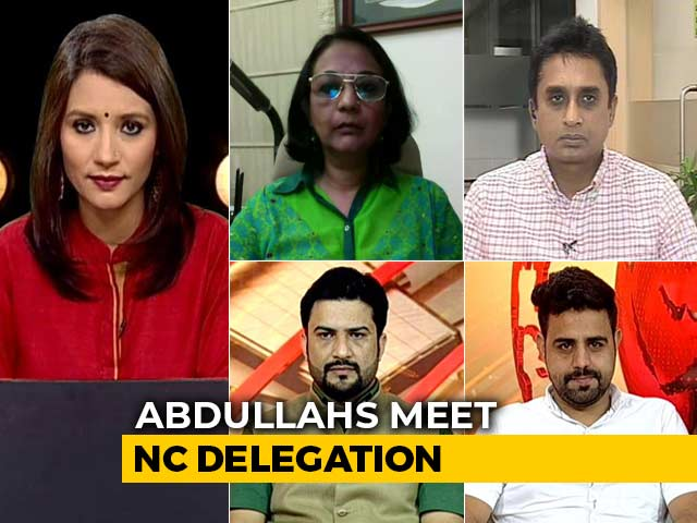 Video : Abdullahs Meet Party Delegation, Mehbooba Mufti To Meet Tomorrow
