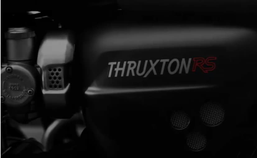 The Triumph Thruxton RS will likely be the top-spec variant in the Thruxton family