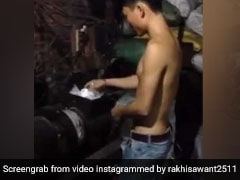Video: प्लास्टिक को मशीन में डाल चावल बना रहा था शख्स, फिर हुआ ऐसा...एक्ट्रेस ने शेयर किया वीडियो
