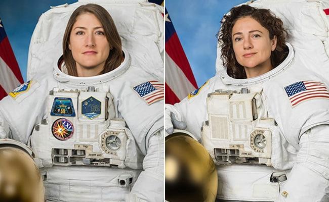 NASA's First All-Female Spacewalk Makes History