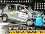 Video : Hyundai Santro Crash Tested, Scores 2 Stars