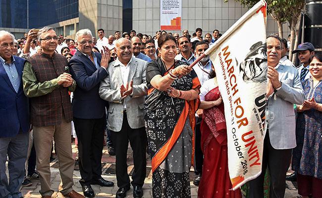 Sardar Patel's Dream Of 'Akhand Bharat' Fulfilled, Says Smriti Irani
