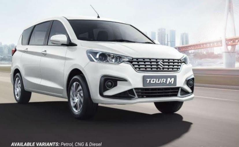 The Maruti Tour M gets the 1.5-litre diesel engine option with just the 6-speed MT