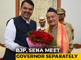 Video : BJP, Sena Meet Governor Separately Amid Tussle Over Power-Sharing
