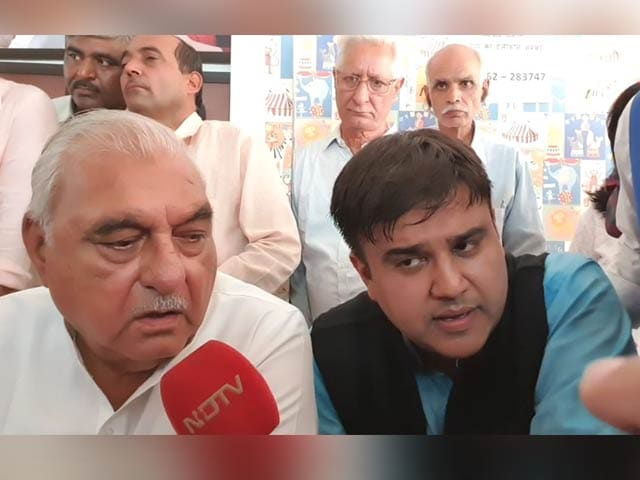 """Video : """"Would Have Won A Full Majority If..."""": Congress's Man Of Moment BS Hooda"""
