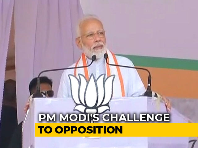"Video : Reverse ""If You Dare"": PM Modi's Challenge To Opposition On Article 370"