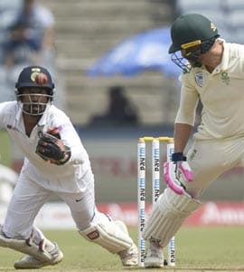 Wriddhiman Saha Wows Fans With His Juggling Act On Day 4