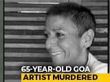 Video : 65-Year-Old Goa Artist Murdered At Home, Suspect Gardener Also Dead