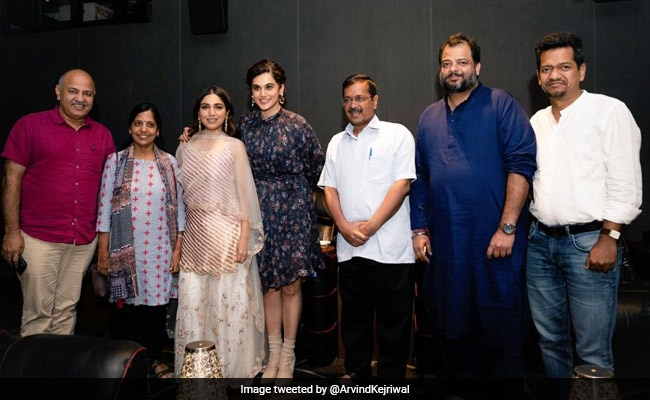 Arvind Kejriwal Watched Taapsee Pannu And Bhumi Pednekar's Saand Ki Aankh. His Verdict