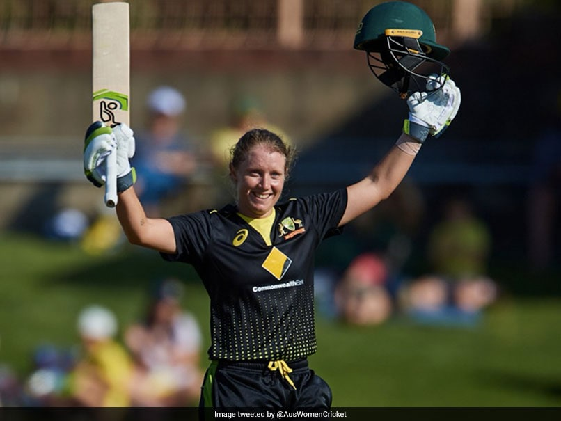 Alyssa Healy Smashes Highest T20I Score In Women