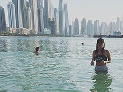 Sunny Leone's Pool Pics From Dubai Are Giving Us Serious Vacation Envy
