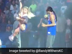Snoop Dog Uses Pole Dancers, Shoots Money Gun At School Performance