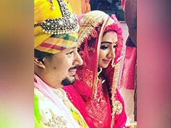 Inside <i>Yeh Rishta Kya Kehlata Hai</i> Actress Mohena Kumari Singh And Suyesh Rawat's Wedding. See Pics
