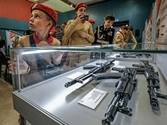 Russia's Youth Army Prep To Mark 100th Birth Anniversary Of AK-47 Maker