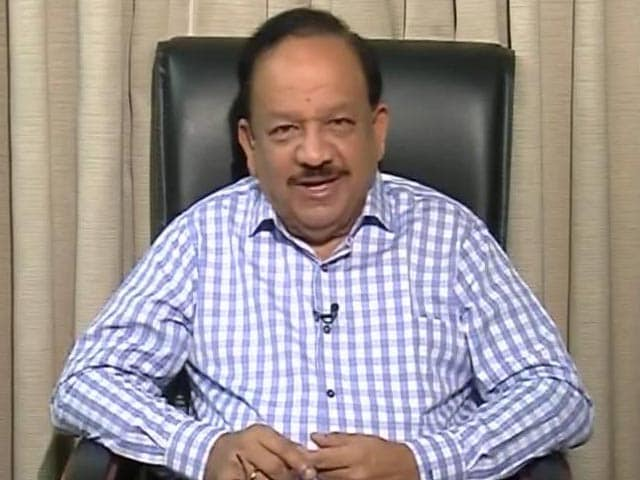 Video : Swachhta Abhiyan Is To Make The Country Healthy: Health Minister Dr Harsh Vardhan